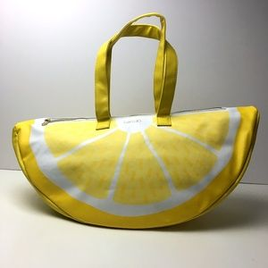 Vintage Lemon Cooler Bag